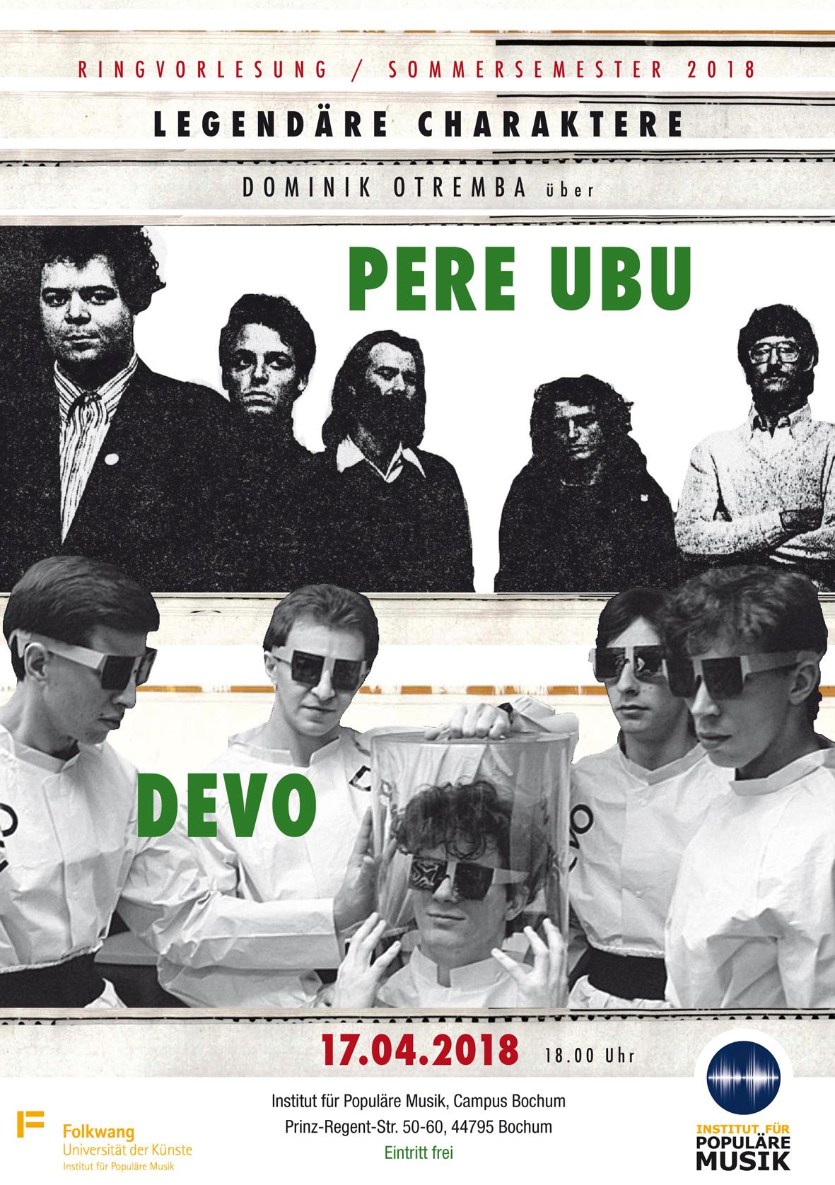 Dominik Otremba über Pere Ubu & Devo