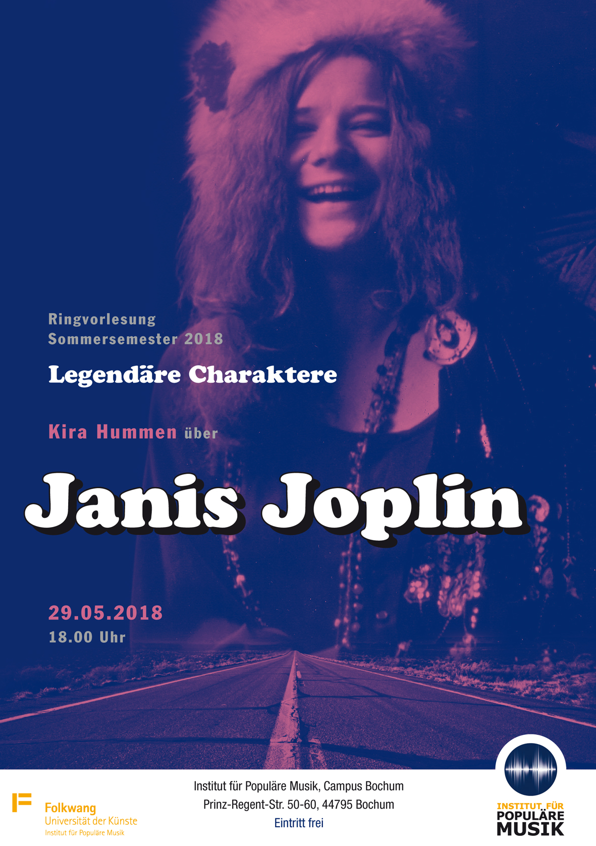 Kira Hummen über Janis Joplin