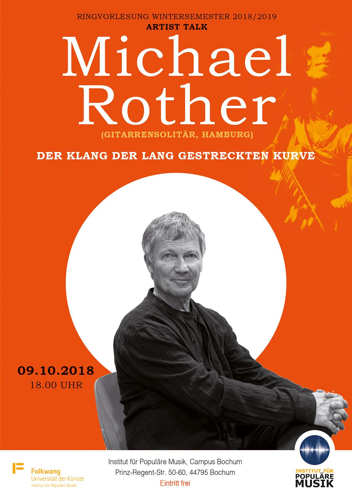 Michael Rother - Der Klang der lang gestreckten Kurve