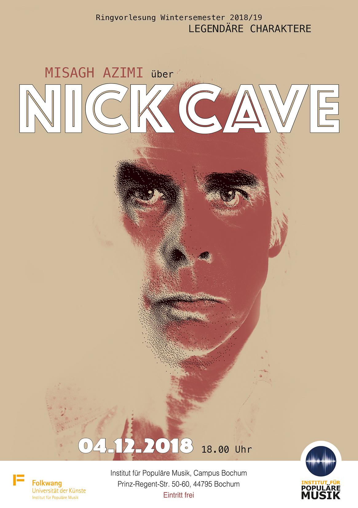 Legendäre Charaktere - Misagh Azimi über Nick Cave