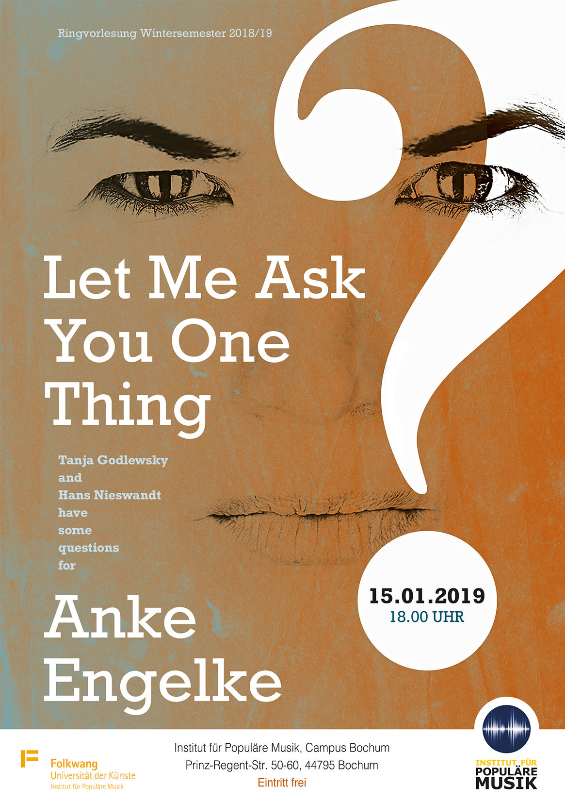 Anke Engelke - Let me ask you one thing