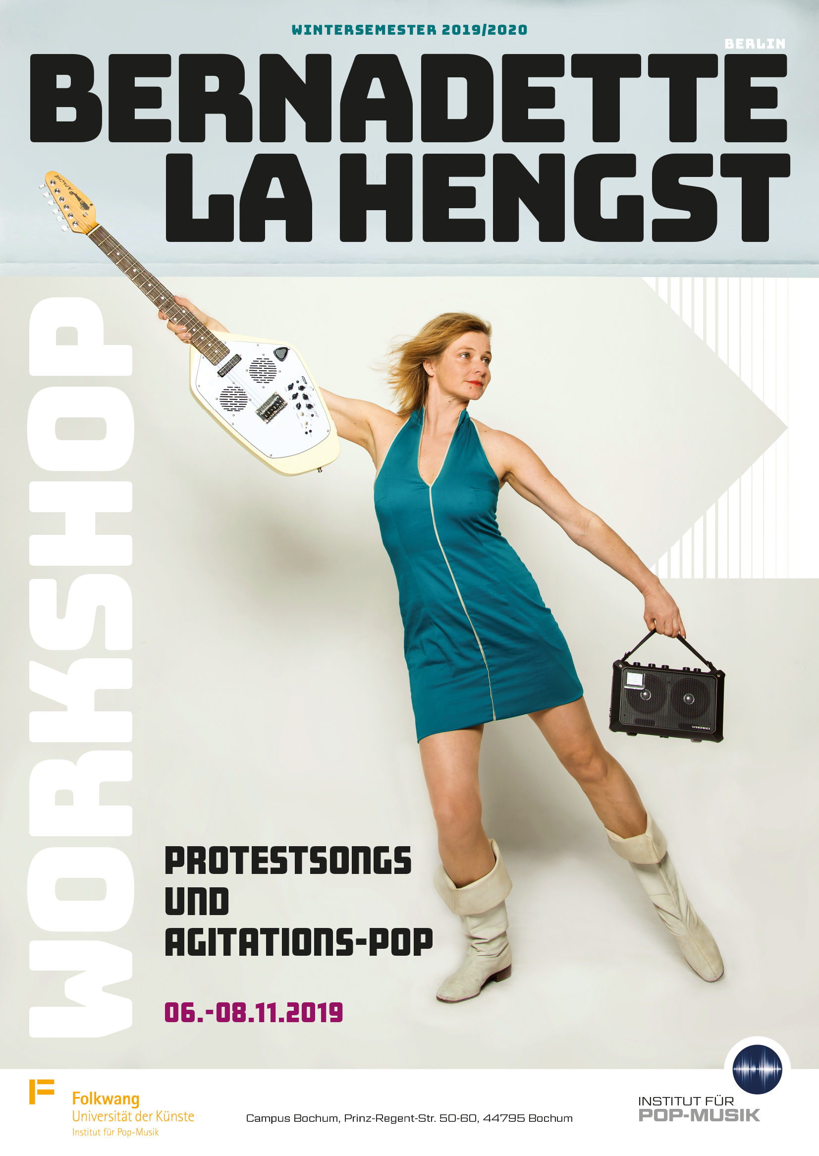 Bernadette La Hengst - Protestsongs und Agitationspop