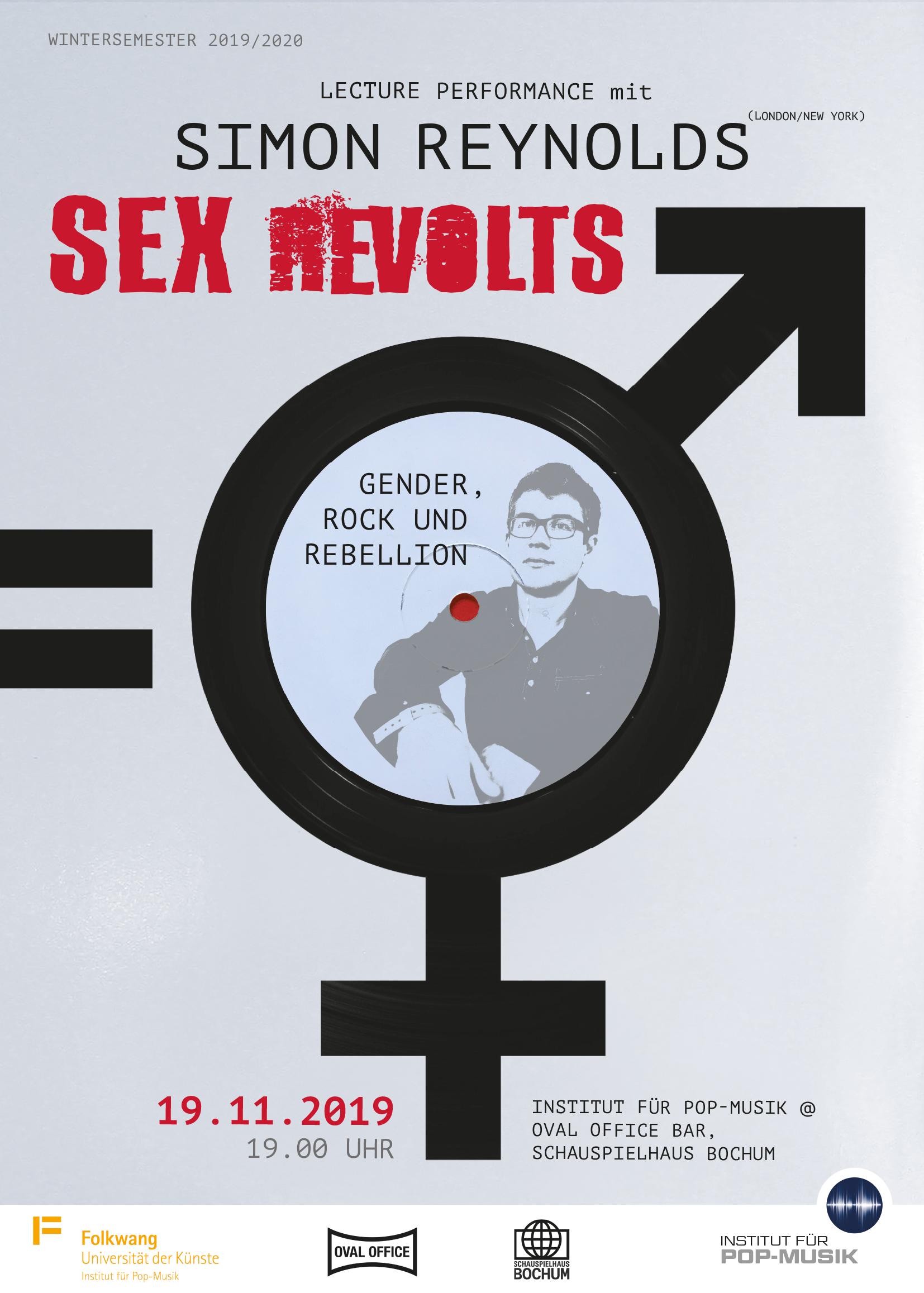 Simon Reynolds - Sex Revolts