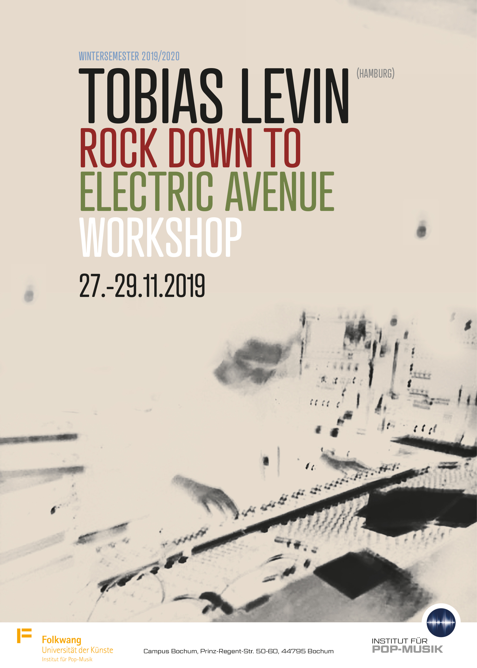 Tobias Levin - Rock Down to Electric Avenue
